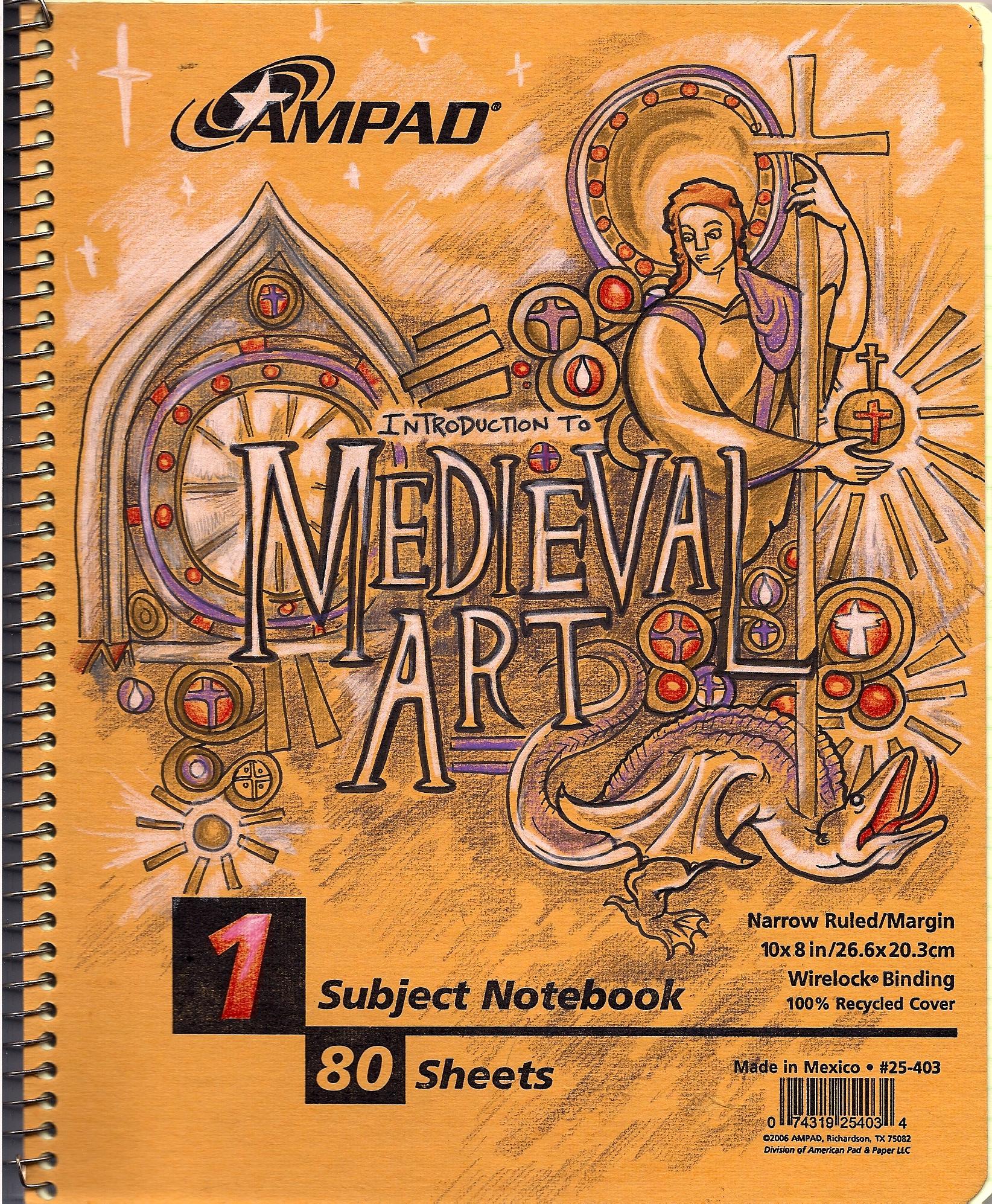 Draw medieval art