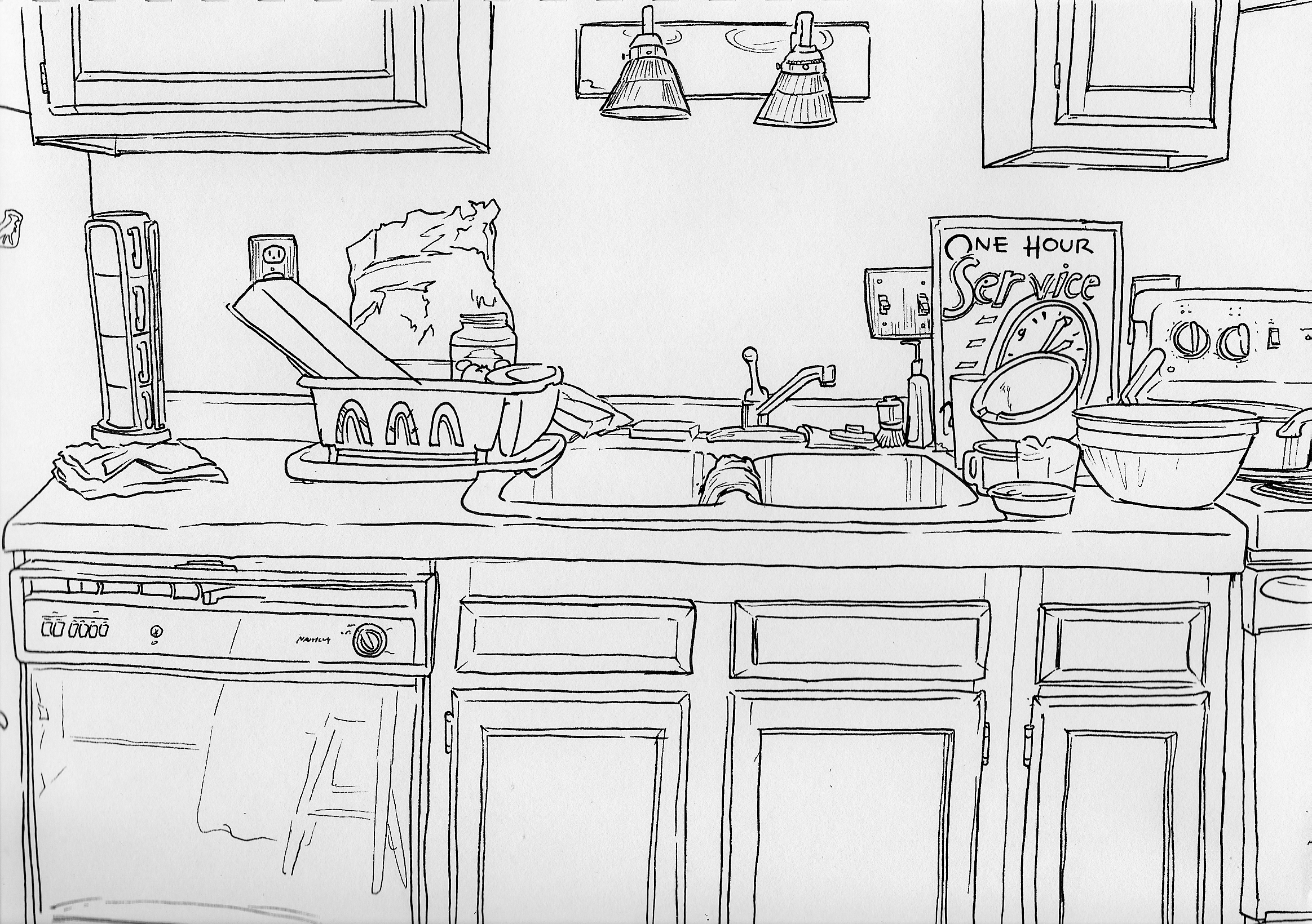 DRAW The Kitchen Today